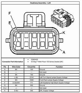 2000 Cadillac Escalade Headlamp Switch Wire Diagram