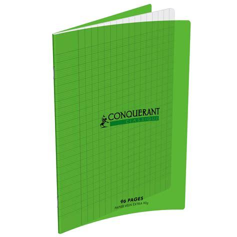 bloc de classement bureau conquérant cahier 96 pages 17 x 22 cm seyes grands