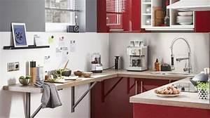 Agencement cuisine plan cuisine gratuit pour s39inspirer for Petite cuisine équipée avec meuble de salle a manger complete