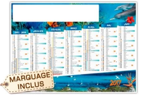 calendrier mural personnalise pas cher calendrier publicitaire personnalis 233 pas cher 2018 pour entreprise