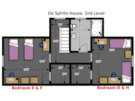 floor plans office  residence life university  wisconsin green bay