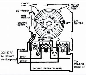 Need Help Wiring An Intermatic Wh40 Water Heater Time