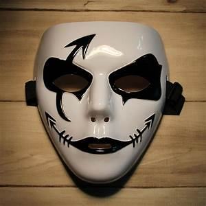 Fashion Hip-hop Style Mask for Halloween Party - Black ...