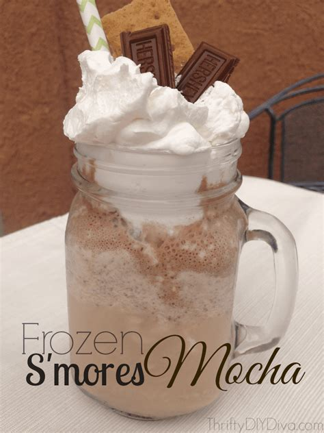 I have been obsessed with iced coffee ever since my husband introduced me to the magical instant iced coffee trick. Frozen S'Mores Mocha Coffee Recipe