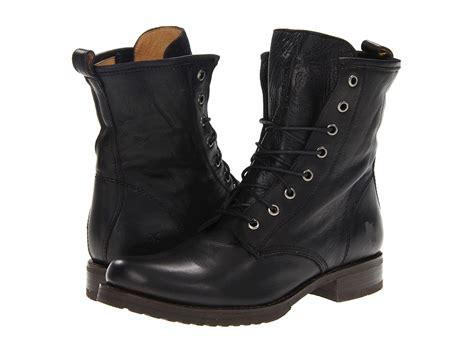 Army Semi Boot handmade black combat boots boot mens
