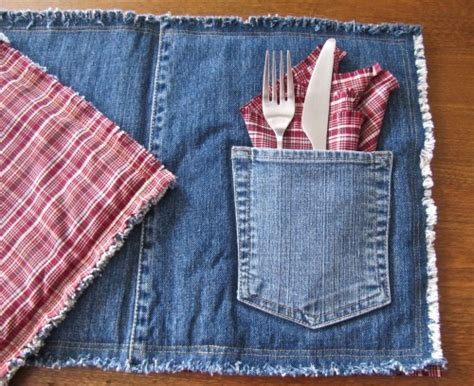 ways  upcycle blue jeans diynownet