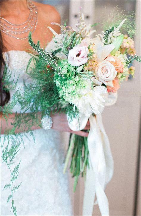 wildflower wedding bouquet  ideas   bride
