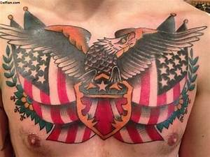 60+ Fabulous Army Flag Tattoo Images – Awesome US Flag ...