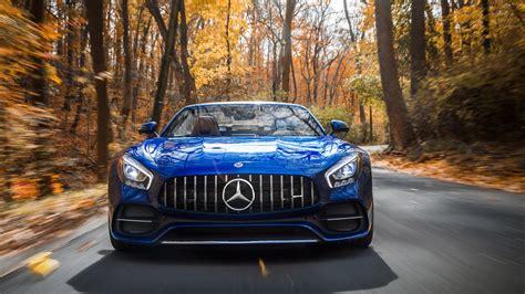 Wallpaper Mercedes-amg Gt C Roadster, Sports Car, 2018, 4k
