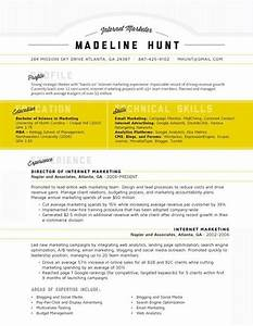 27 magnificent cv designs that will outshine all the With creative marketing resume templates