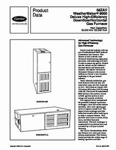 Carrier High Efficiency Furnace Manual
