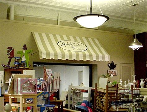 easy indoor awning  marketstand indoor awnings diy awning fabric awning
