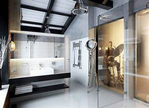 His turn luxury bathroom design for men maison for Manly bathrooms