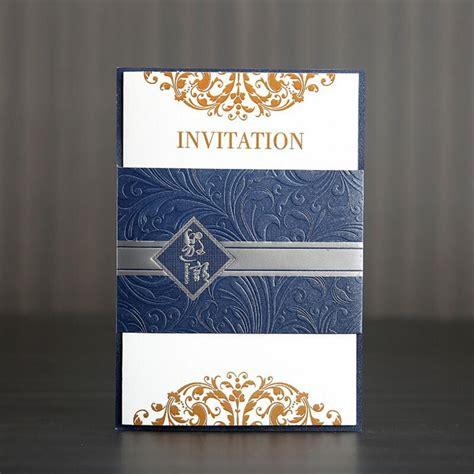 20pcs/lot Creative Business Invitation Cards Folding