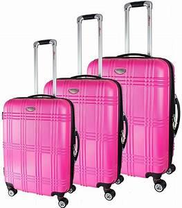 Koffer Set Test : i i 3er brubaker koffer set aus abs reisekoffer erweiterbar pink ~ A.2002-acura-tl-radio.info Haus und Dekorationen
