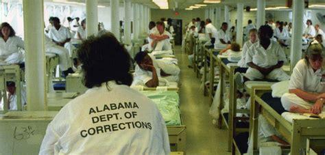 alabama prison   practice  segregating women