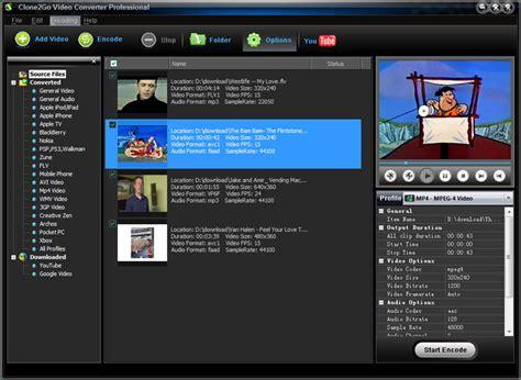 video converter  windows clonego