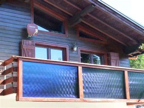 ringhiera per terrazzo pannelli wagner co solar italia sostituiscono ringhiera
