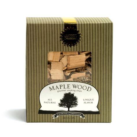 charcoal companion maple wood smoking chips  pound