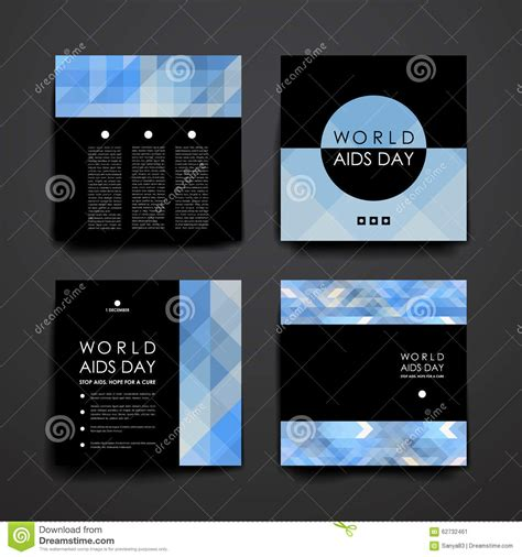 set  brochure poster design templates  world stock