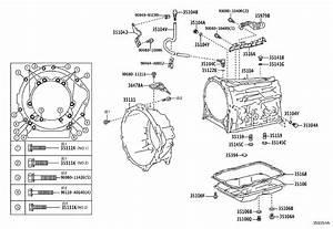 Toyota Tacoma Automatic Transmission Oil Pan  Driveline