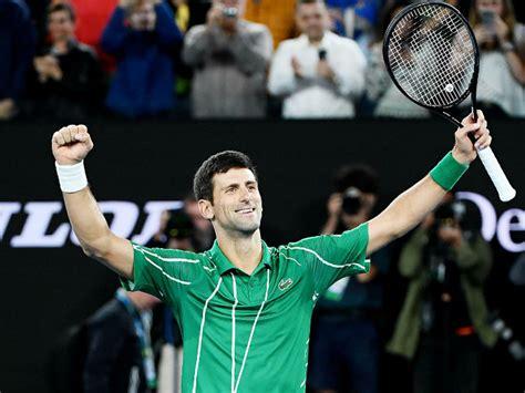 Novak Djokovic play at Tennis Grand Slam Information US ...