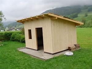 Gartenhaus Selber Bauen Holz Anleitung : gartenhaus flachdach bauanleitung my blog ~ Markanthonyermac.com Haus und Dekorationen