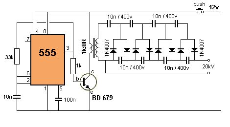 What The Output Voltage This Timer High