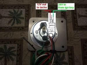 Bj42  Hj47 Tachometer Bezel Dimensions