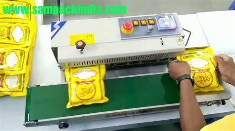 sealing machine band sealer youtube