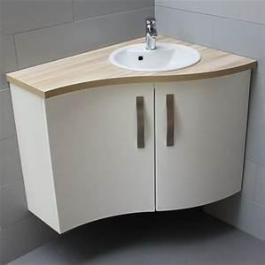inspiration meuble salle de bain d angle avec vasque 32 With meuble d angle de salle de bain avec vasque