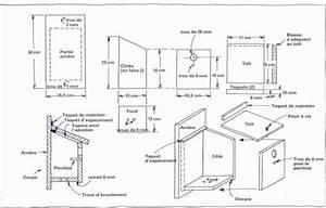 Plan Nichoir Oiseaux : cabane a oiseau en bois plan ~ Melissatoandfro.com Idées de Décoration