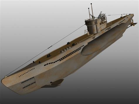 U Boat Model by 3d Model U Boat Submarine