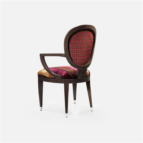 sieges rosieres fauteuil medaillon hetre massif