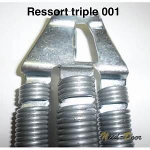 Ressort triple 001 ou 301 porte basculante ecostar hormann for Ressort de porte de garage basculante