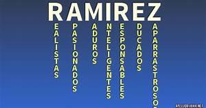Significado del apellido ramiréz Significados de los apellidos