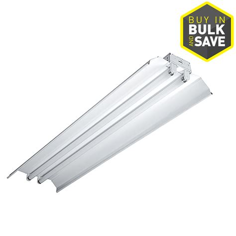 lowes fluorescent shop lights shop metalux icf series fluorescent strip light common 4