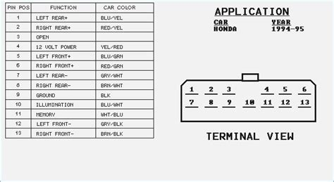 2001 Honda Accord Stereo Wiring Diagram by 2001 Honda Civic Lx Radio Wiring Diagram Auto Electrical