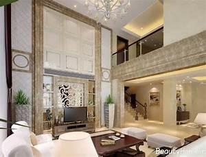 With interior decoration duplex house