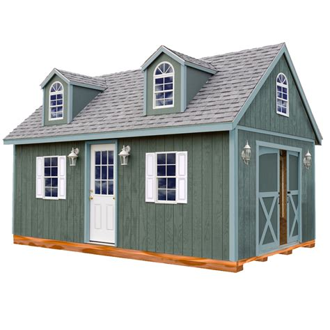 sheds at lowes shop best barns common 12 ft x 16 ft interior