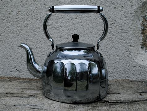 stove kettle kettles chrome 1940 woodburning pike darty drop