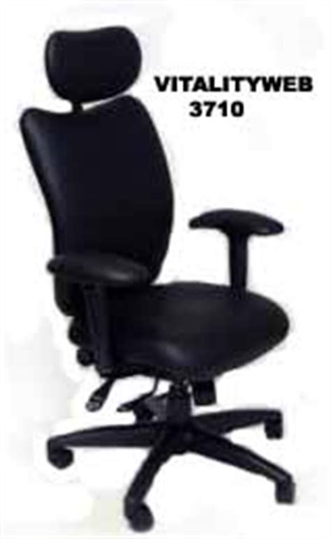 ergonomic office chair with tempur material or new softer