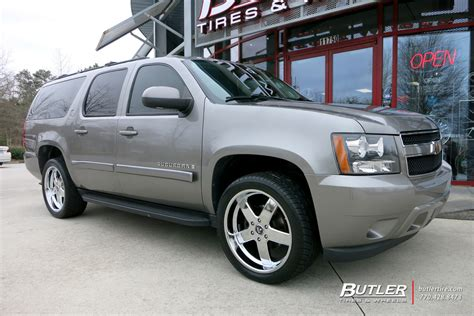 chevrolet suburban   dub big baller wheels
