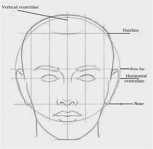Drawings: ADULT FACIAL PROPORTIONS