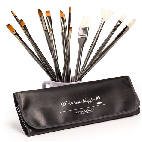 Art Brush Set Best Professional Artist Supplies Acrylic