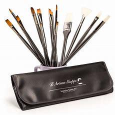 Art Brush Set Best Professional Artist Supplies Acrylic