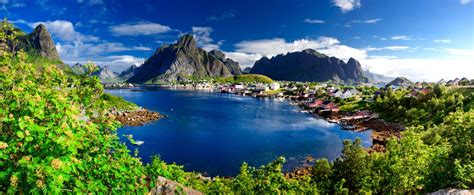 Hong Kong Hd Wallpaper Reine Norway Hotelroomsearch Net