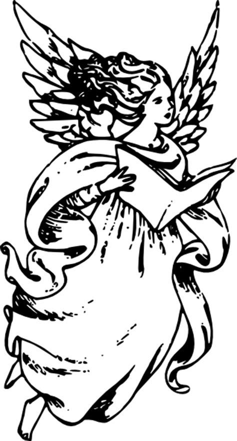 angel  book clip art  clkercom vector clip art