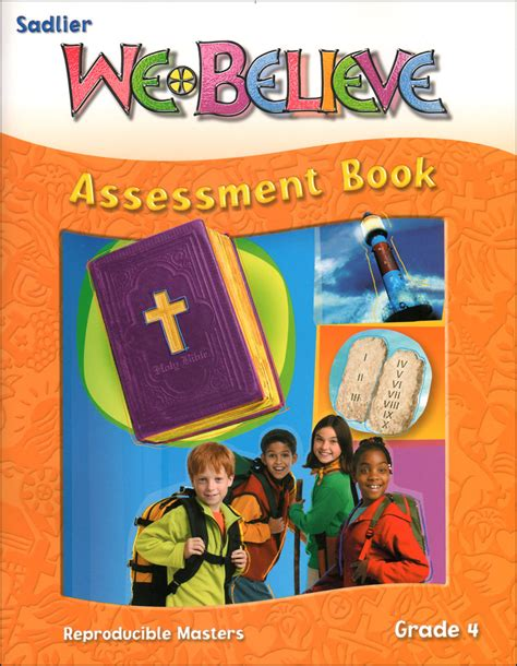 We Believe Catholic Identity Edition, K6 Grade 4, Assessment Book  Communication Center