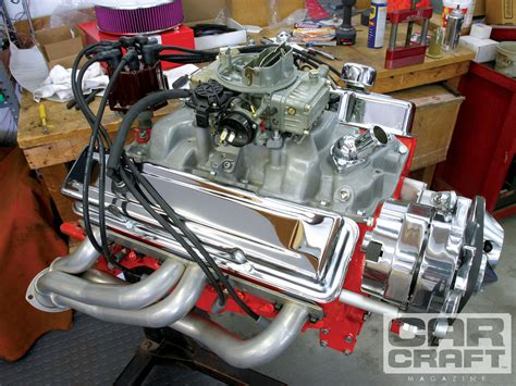Small Block Chevy Engine by Small Block Chevy Dress Up Rod Network